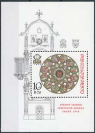 Tsjechoslowakije, michel blok 35 A, xx