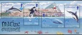 Gibraltar , michel blok 34 , xx