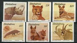 Zimbabwe, michel 412/17, xx