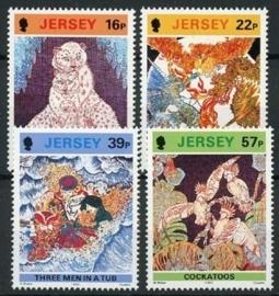 Jersey, michel 581/84, xx