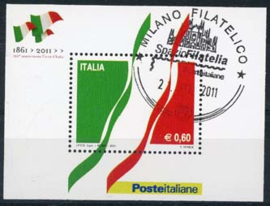 Italie, michel blok 51, o
