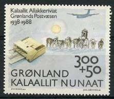 Groenland, michel 185 , xx