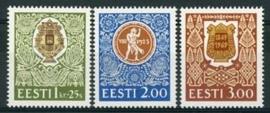 Estland, michel 225/27 , xx