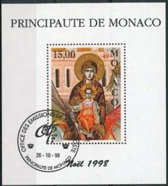 Monaco, michel blok 75, o
