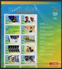 Australie, michel kb 2547/55, xx