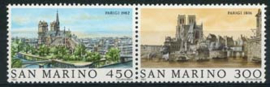 S.Marino, michel 1261/62, xx