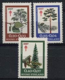 Finland, michel 623/25, xx