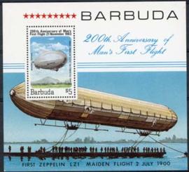 Barbuda, michel blok 75,xx