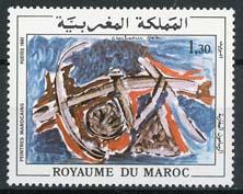 Marokko, michel 954, xx