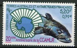 Antarctica Fr., michel 473, xx