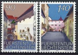 Liechtenstein, michel 919/20, xx