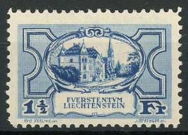 Liechtenstein, michel 71, x