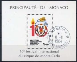 Monaco , michel blok 27 , o