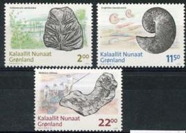 Groenland, michel 529/31, xx