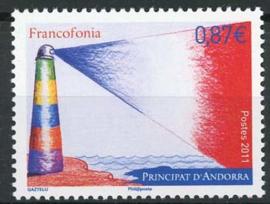 Andorra Fr., michel 726 , xx
