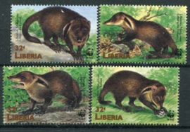 Liberia, michel 2040/43, xx