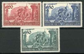 Liechtenstein, michel 180/82, x