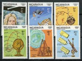 Nicaragua, michel 2621/26, xx