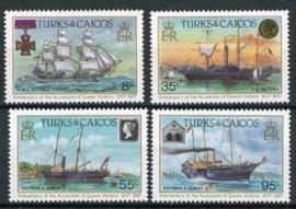 Turks, michel 791/94, xx