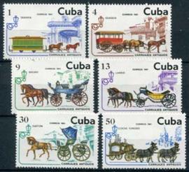 Cuba, michel 2569/74, xx