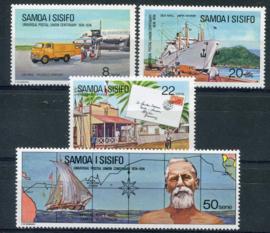 Samoa, michel 302/05, xx