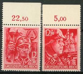 Duitse Rijk, michel 909/10, xx
