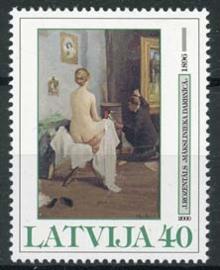 Letland, michel 517, xx