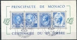 Monaco , michel blok 31 , o