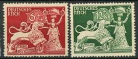 Duitse Rijk, michel 816/17, xx