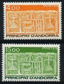 Andorra Fr., michel 367/68, xx