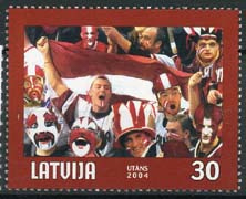 Letland, michel 610 A, xx