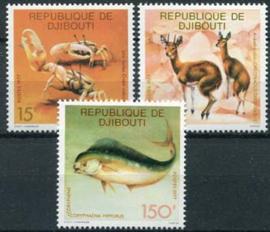 Djibouti, michel 205/07, xx
