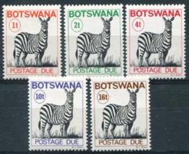 Botswana, michel P 8/12, xx