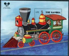 Gambia, michel blok 41, xx