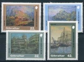 Gibraltar, michel 624/27, xx