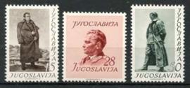 Joegoslavie, michel 693/95, xx