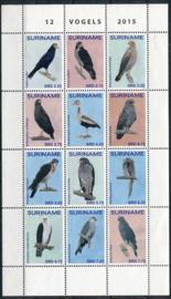 Suriname Rep., vogels 2015, xx
