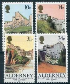 Alderney, michel 28/31, xx