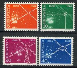 Zwitserland, michel 566/69, xx