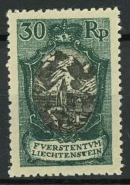 Liechtenstein, michel 55, x