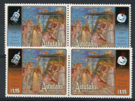 Aitutaki, michel 570/73, xx