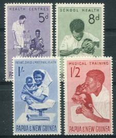 Papua N.Guinea, michel 58/61, xx