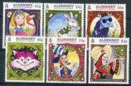 Alderney, michel 519/24, xx