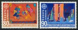 Liechtenstein, michel 1033/34, xx