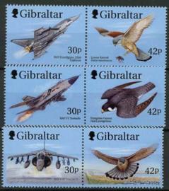 Gibraltar, michel 880/85, xx