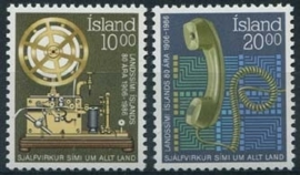 Ysland, michel 658/59, xx