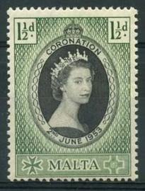 Malta, michel 232, x