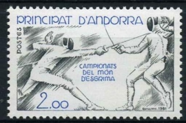 Andorra Fr., michel 317, xx