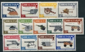 Gibraltar, michel 528/37, xx
