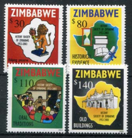 Zimbabwe, michel 748/51, xx